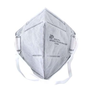 Респиратор с активен въглен, прахова защита, FFP2, CE, 15 бр.