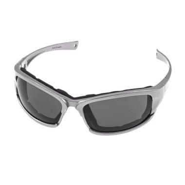 Защитни очила ANTI SCRATCH, сиви стъкла, UV, EN 166