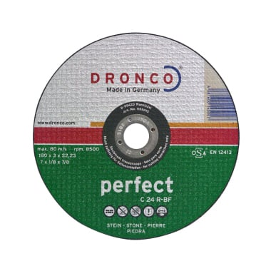 Диск за рязане на камък, бетон DRONCO Perfekt C24R, Ф 125 x 3.0 х 22.23 мм