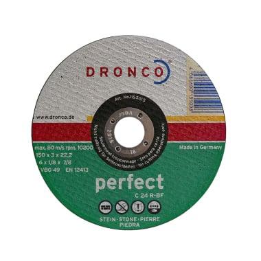 Диск за рязане на камък, бетон DRONCO Perfekt C24R, Ф 150 x 3.0 х 22.23 мм