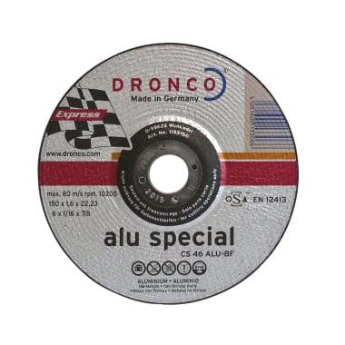 Диск за рязане на алуминий DRONCO Special CS46ALU, Ф 150 x 1.6 х 22.23 мм