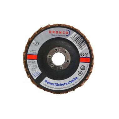 Ламелна шайба за полиране, груба, DRONCO G - VA, Ф 115 x Ф 22.23 мм