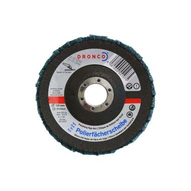 Ламелна шайба за полиране, фина, DRONCO G - VA, Ф 125 x Ф 22.23 мм