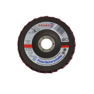 Ламелна шайба за полиране, нормална, DRONCO G - VA, Ф 125 x Ф 22.23 мм