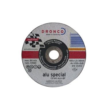 Диск за рязане на алуминий DRONCO Special CS60ALU, Ф 105 x 1.2 х 16 мм