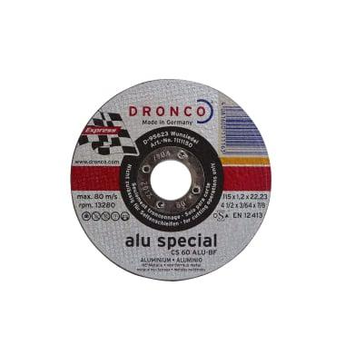 Диск за рязане на алуминий DRONCO Special CS60ALU, Ф 115 x 1.2 х 22.23 мм