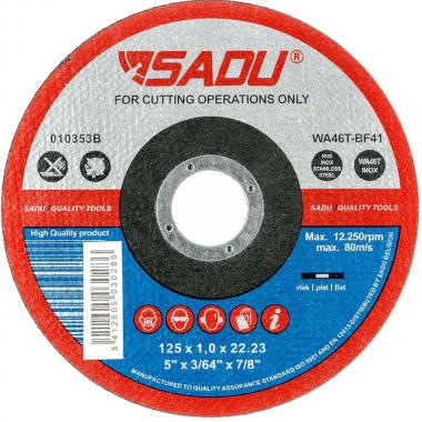 Диск за рязане на INOX SADU