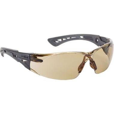 Защитни очила BOLLE RUSH+, тъмни, химическа защита, EN 166