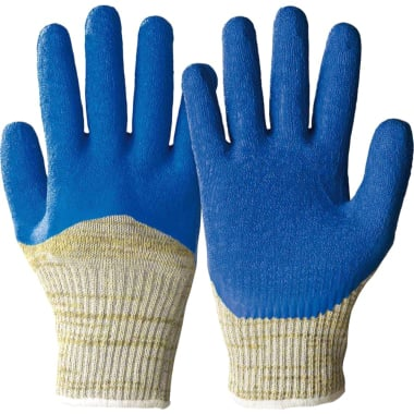 Ръкавици противосрезни HONEYWELL, SivaCut, синьо - жълто, N 10