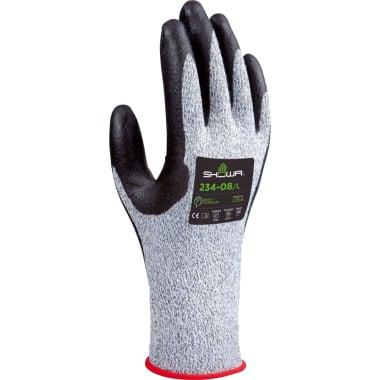 Ръкавици противосрезни SHOWA, сиво - черни, N 10