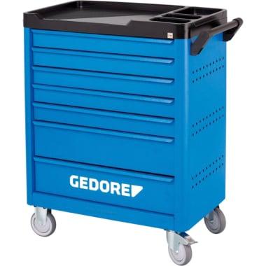 Количка за инструменти, GEDORE, 7 чекмеджета, празна