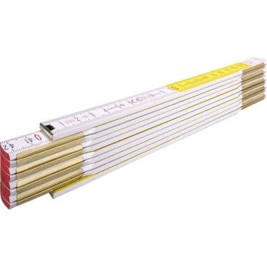 Дървен сгъваем метър STABILA, 2 м