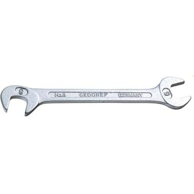Гаечен ключ, малък, GEDORE, CrV, SW 7 x 91 мм