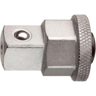 """Адаптор за ключ тресчотъчен 19 мм към вложка 1/2"""", GEDORE"""