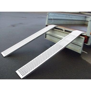 Алуминиева товарна рампа Hans Pfefferkorn, 1.5 м, 400 кг, 2 части