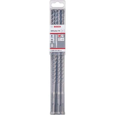 Свредло за бетон BOSCH 7X, SDS Plus, ф 8 х 265, 10 бр