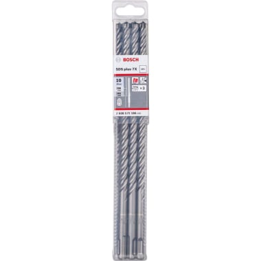 Свредло за бетон BOSCH 7X, SDS Plus, ф 10 х 265, 10 бр