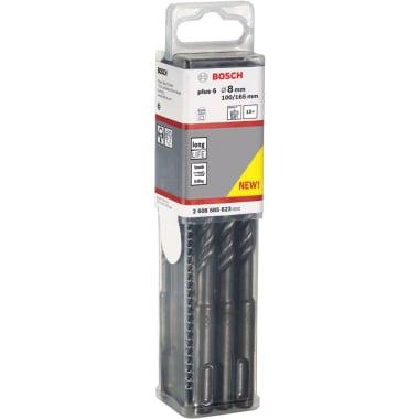 Свредло за бетон BOSCH SDS Plus-5, ф 8 х 165, 10 бр