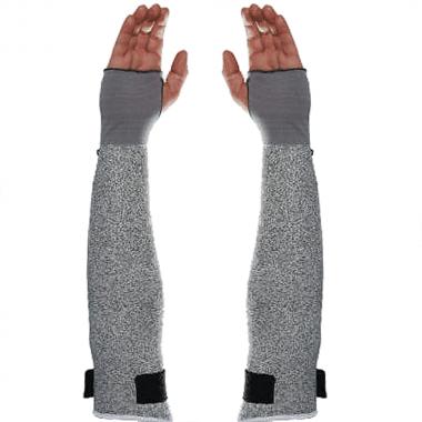Протектори за ръце MAPA, противосрезни, 450 мм, сиви