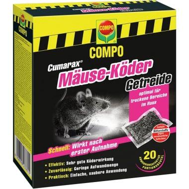 Отрова за мишки на сашета Compo, CUMARAX, 200 гр