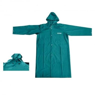 Дъждобран TOTAL, зелен, два джоба