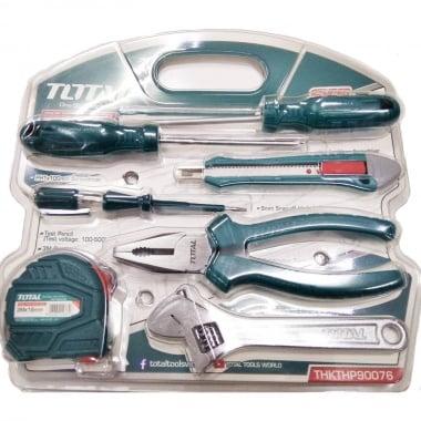 Комплект ръчни инструменти TOTAL, 7 части
