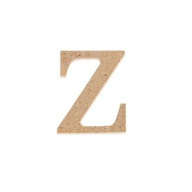 """Декоративен символ RicoDesign, """"z"""", MDF, 2,7X2,2 cm"""