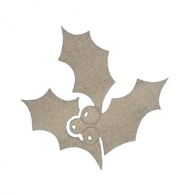 Декоративна фигура Rico Design, ИМЕЛ, MDF, 8/8.5/0.5 cm