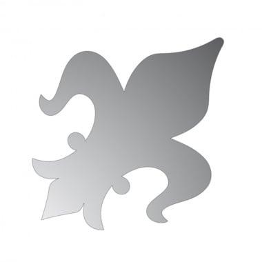 Декоративна фигура Rico Design, КРАЛСКА ЛИЛИЯ, SILVER, 13/9.5 cm