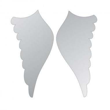 Декоративна фигура Rico Design, КРИЛЦА 2ч., SILVER,