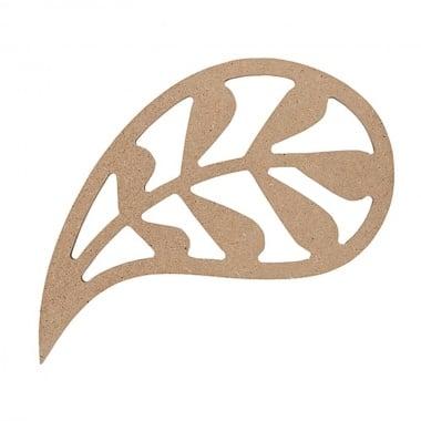 Декоративна фигура Rico Design, МОТИВ 1, MDF, 7.7/11 CM