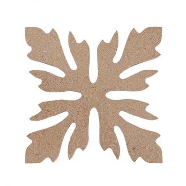 Декоративна фигура Rico Design, ОРНАМЕНТ 3, MDF, 5.5/5.5 CM