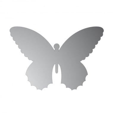 Декоративна фигура Rico Design, ПЕПЕРУДА, SILVER, 9.5/14.5 cm