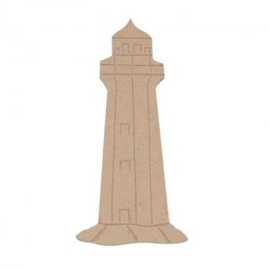 Декоративна фигура Rico Design, ТЪНЪК ФАР, MDF, 14.5/3/0.05 cm