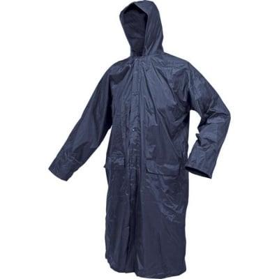 Дъждобран VOREL, син, цип, закопчалки, два джоба