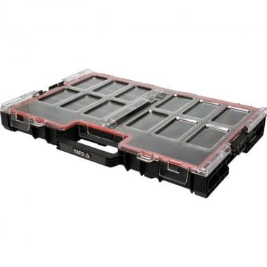 Кутия органайзер L YATO, 585 х 379 х 77 мм