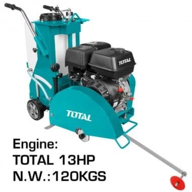 Бензинов фугорез TOTAL, 13HP, Ф 300 - 450 мм