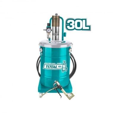 Пневматична система за гресиране TOTAL Industrial ,30 L, 400 bar