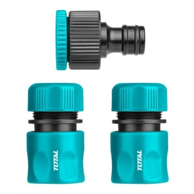Комплект конектори за напояване TOTAL, 3 части
