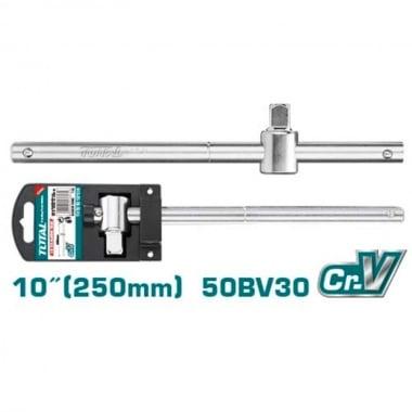 """Върток за вложка с плъзгаща дръжка TOTAL INDUSTRIAL, 1/2"""", 250 мм"""