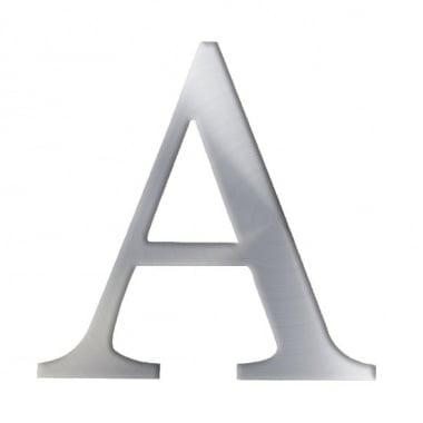 """Декоративен символ RicoDesign, """"A"""", SILVER, 32/31 mm"""