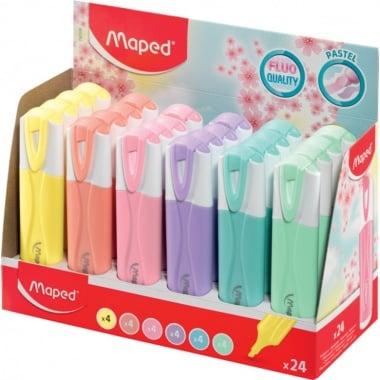 Текст маркер Maped, Fluo Peps Pastel, разл. цветове, 1 бр.