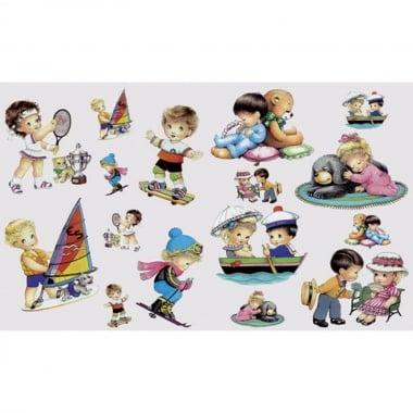 Декупажна хартия, 60 g/m2, 33 x 48 cm, 1л, Деца в свободно време