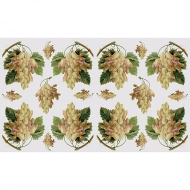 Декупажна хартия, 60 g/m2, 33 x 48 cm, 1л, Лози и грозде