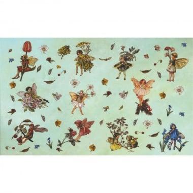 Декупажна хартия, 60 g/m2, 33 x 48 cm, 1л, Феите на цветята