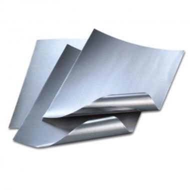 Алуминиево фолио, 20 х 30 cm / 0.15 mm, 3 бр., сребърно/сребърно