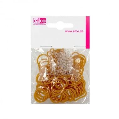 Ластички за плетене на гривни Rubber Loops, 100 бр., златен
