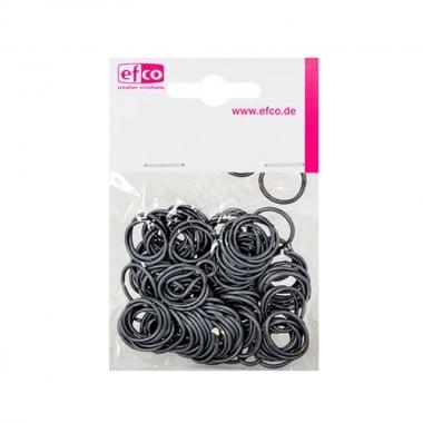 Ластички за плетене на гривни Rubber Loops, 100 бр., сребърен