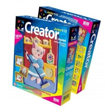 Креативен комплект за създаване на гипсова отливка Creator «Industrious piggy»