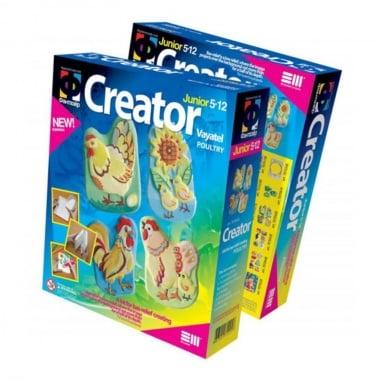 Креативен комплект за създаване на гипсова отливка Creator «Poultry»